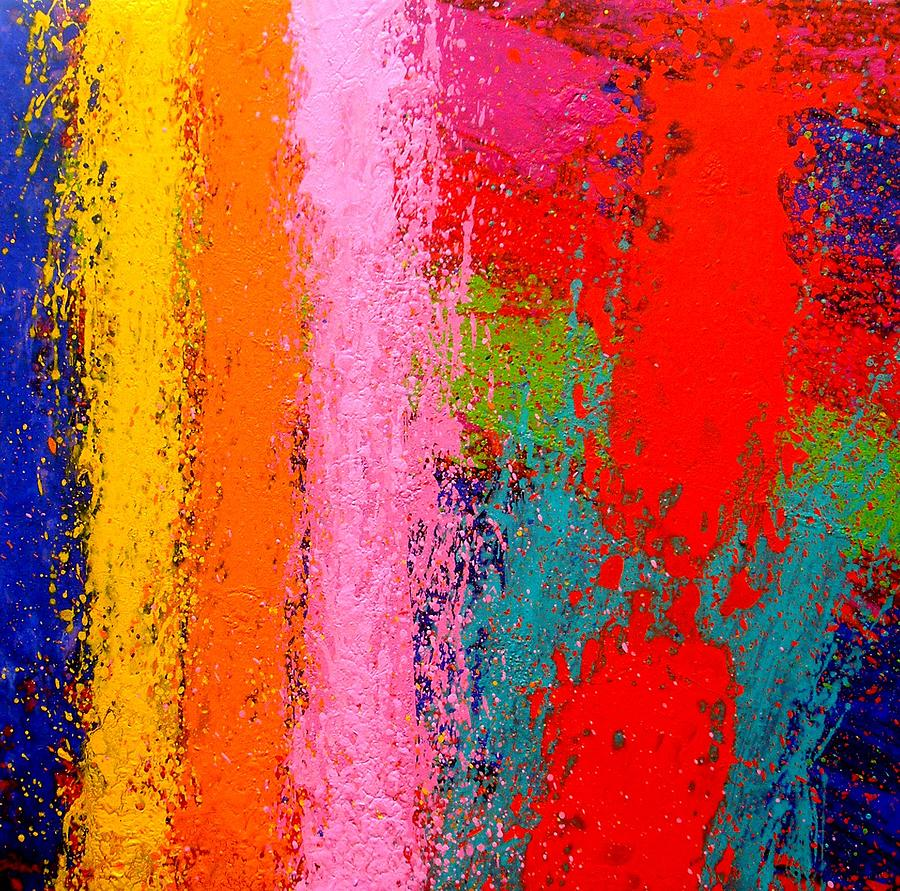 Abstract Painting - Polyphony IIi by John  Nolan