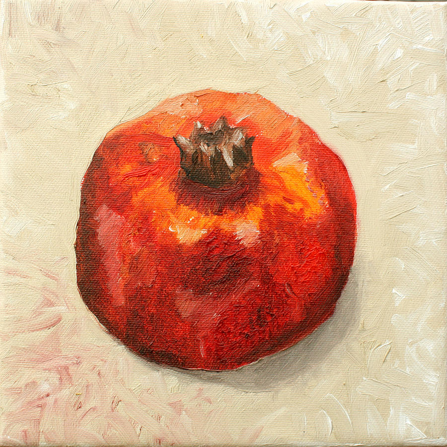 Jesus Christ Painting - Pomegranate 1  by Sandra Yegiazaryan