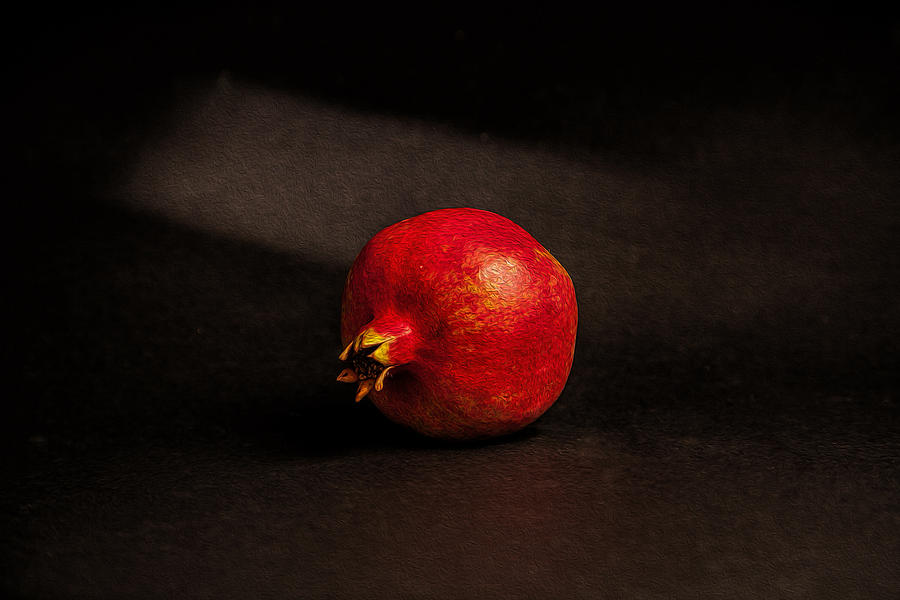 Dutch Masters Photograph - Pomegranate by Peter Tellone