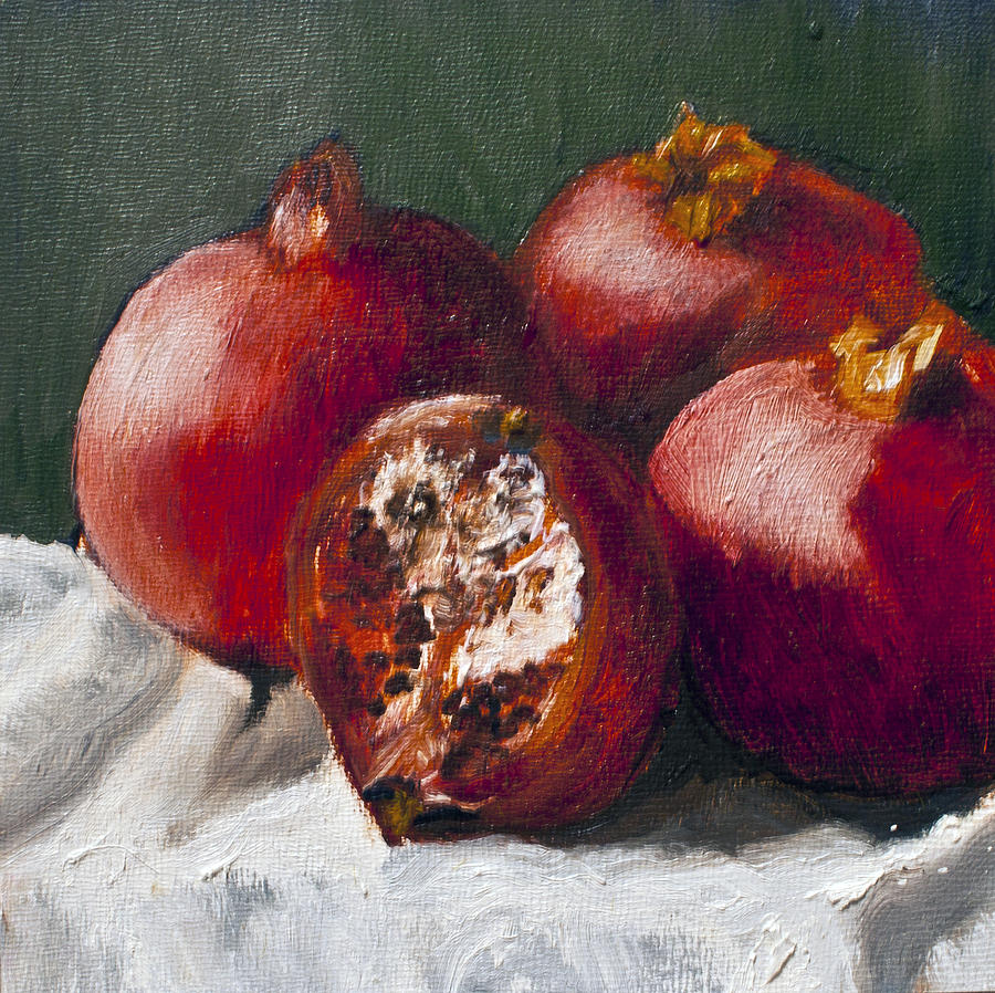 Pomegranates by Gaye White