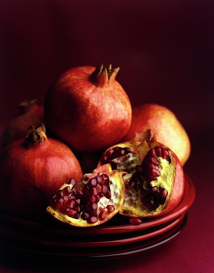 Pomegranates Photograph by Romulo Yanes