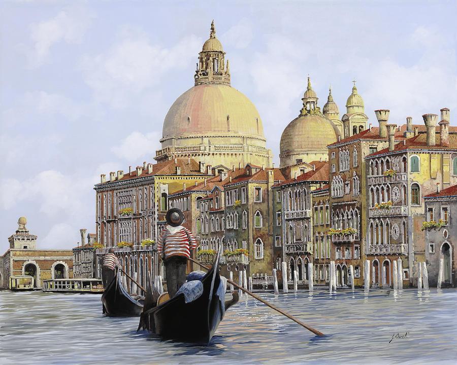 Venice Painting - Pomeriggio A Venezia by Guido Borelli