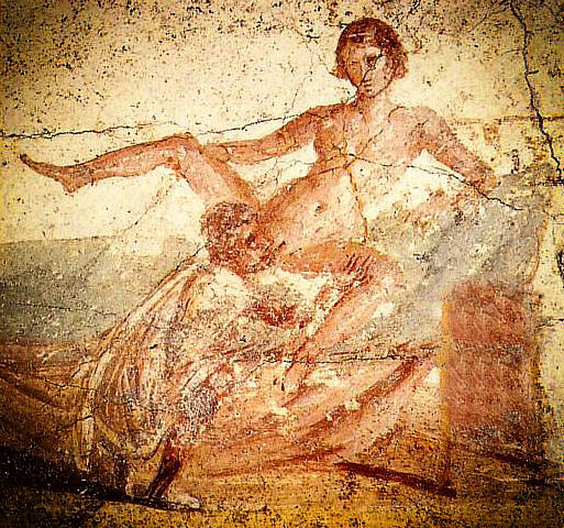 Pompeii Fresco Wall Painting 79 Ad Photograph by Don Fleming