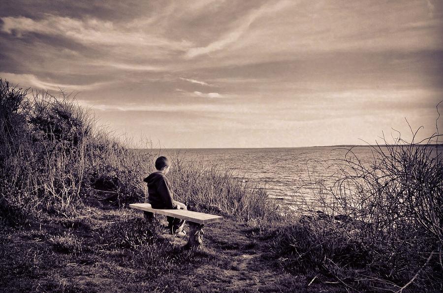 Landscape Photograph - Pondering by Jonathon Shipman