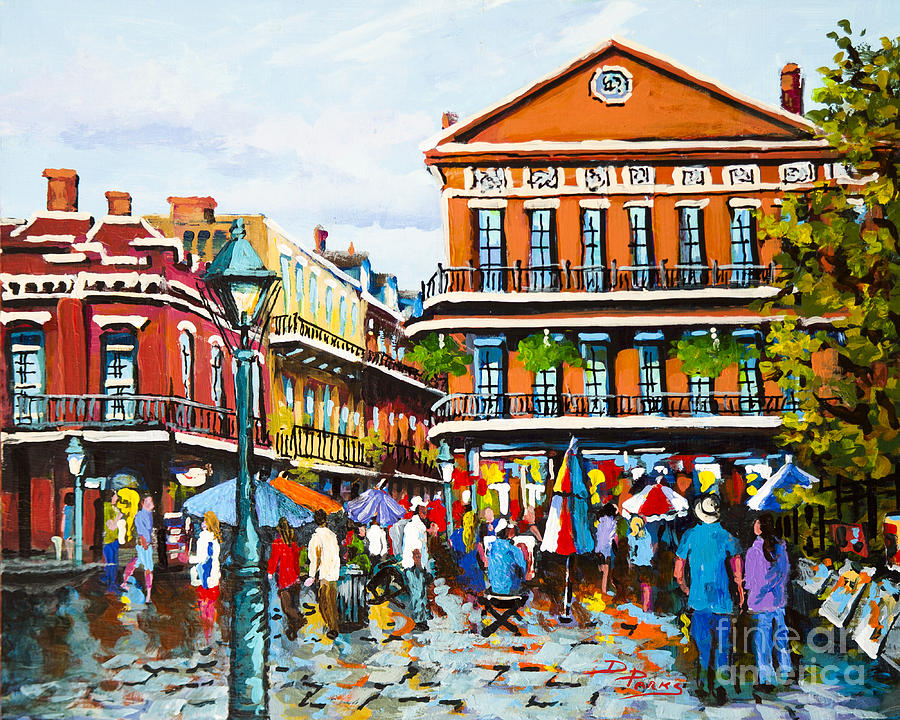 New Orleans Painting - Pontabla by Dianne Parks