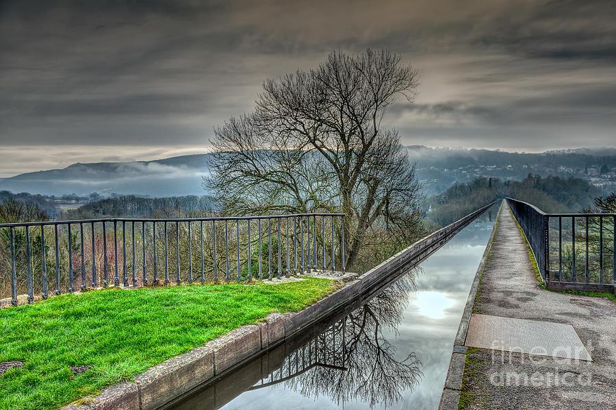1805 Photograph - Pontcysyllte Aqueduct by Adrian Evans