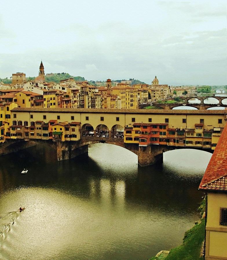 Ponte Vecchio Photograph - Ponte Vecchio 2 by Ellen Henneke