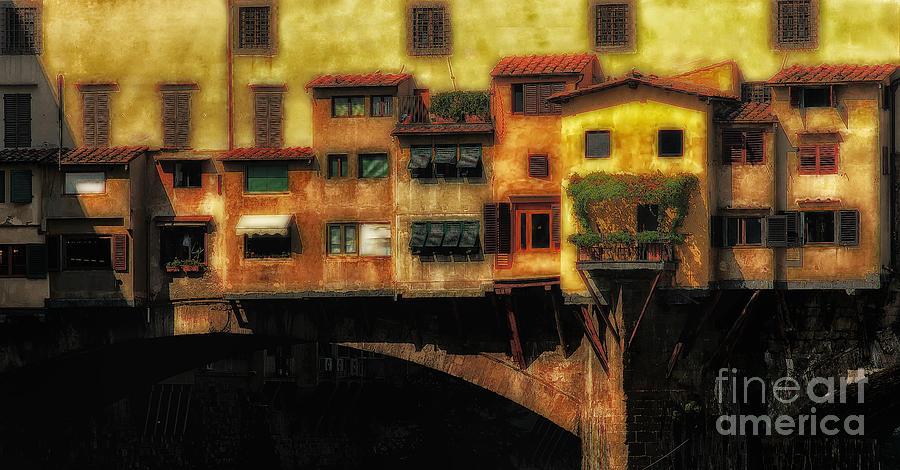 Ponte Vecchio Photograph - Ponte Vecchio Firenze by Mike Nellums