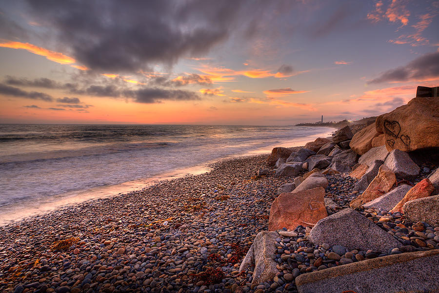 Beach Photograph - Ponto Twilight by Peter Tellone