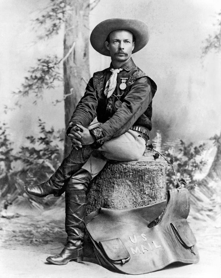 1800s Photograph - Pony Express Rider by Underwood Archives