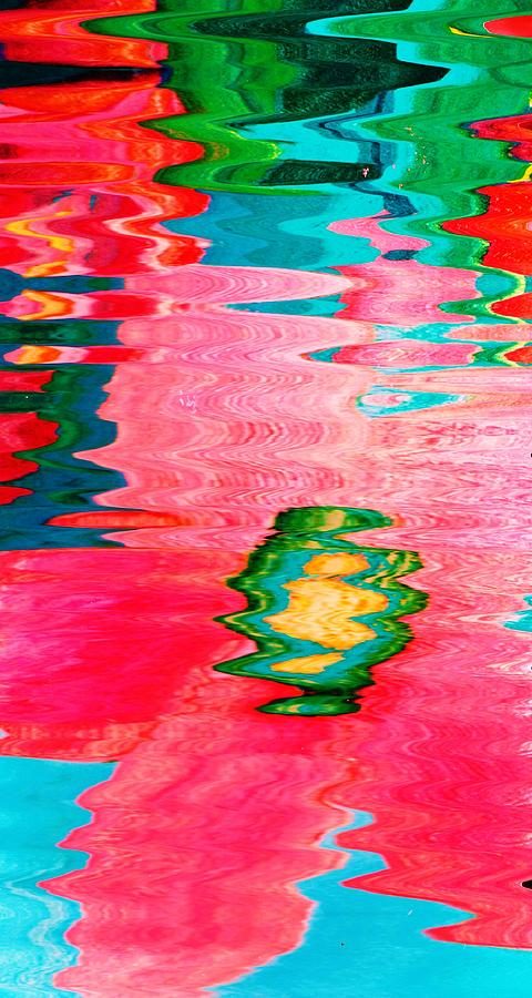 Surreal Mixed Media - Pool Of Surreal Dreams by Anne-Elizabeth Whiteway