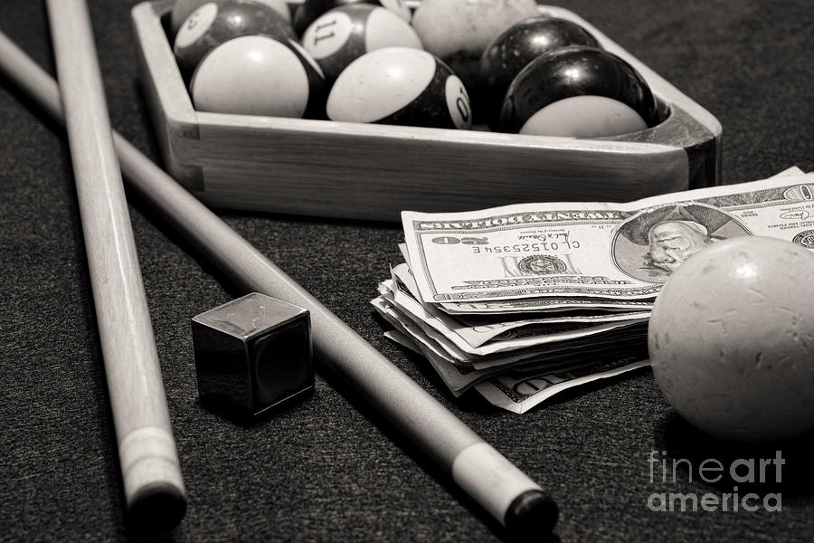 Billiard hustler picture