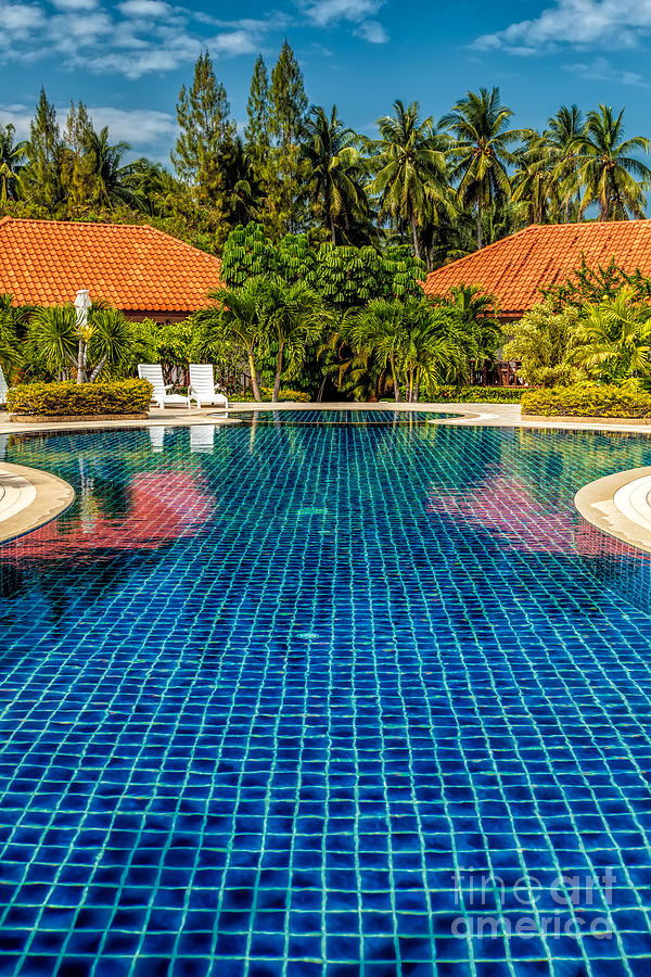 Hdr Photograph - Pool Time by Adrian Evans