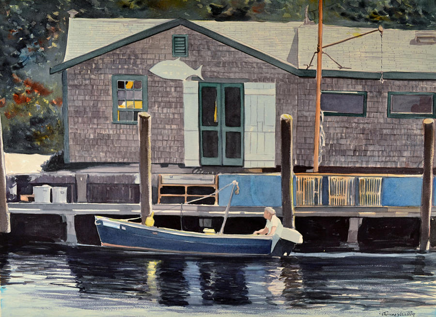 Marine Painting - Pooles by Thomas Stratton