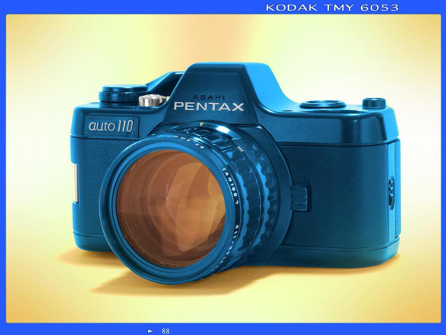 Instamatic Photograph - Pop Art 110 Pentax by Mike McGlothlen