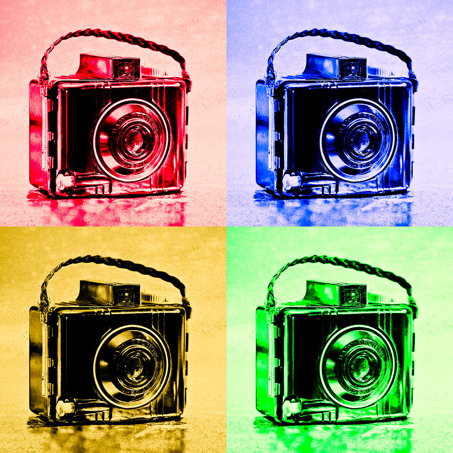 Pop Art Brownie Cameras Photograph By Jon Woodhams