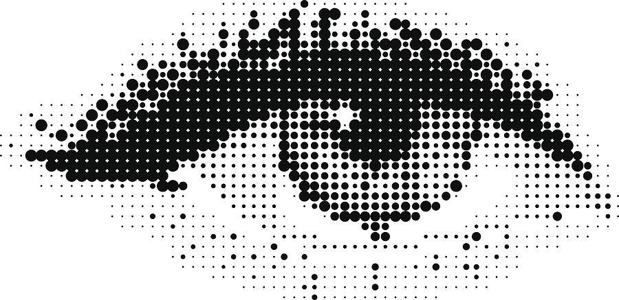 Pop Art eye Drawing by Lvcandy