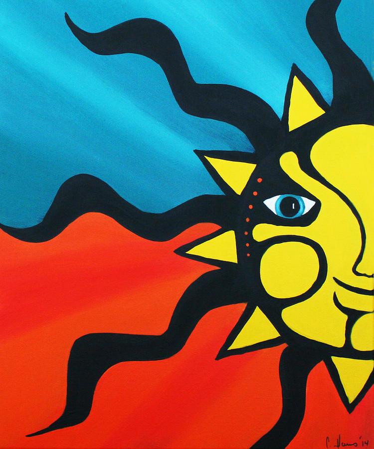 Pop Art Sun by Catherine Harms