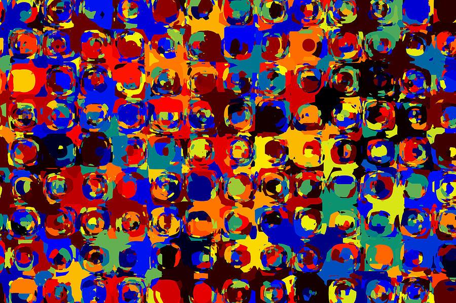 Vibrant Painting - Pop Colors 14 by Craig Gordon