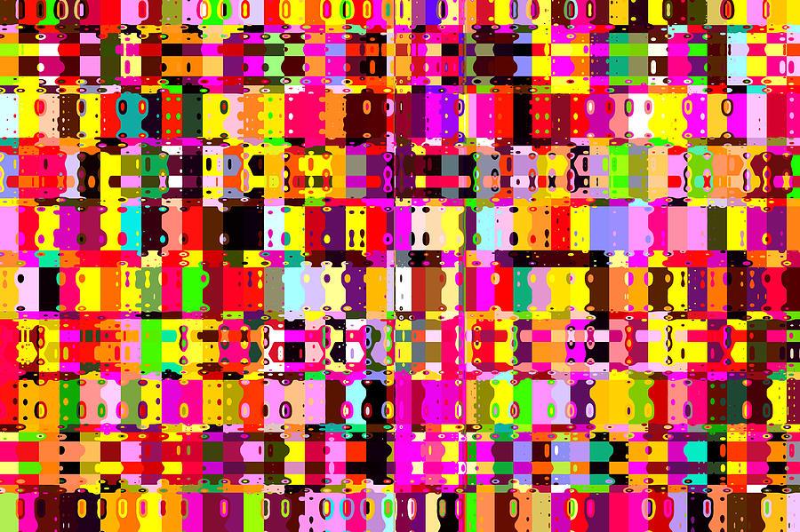 Vibrant Painting - Pop Colors 16 by Craig Gordon