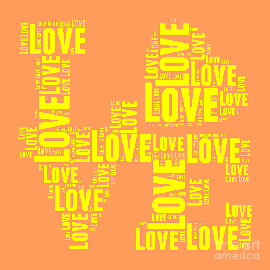 Love Digital Art - Pop Love 3 by Delphimages Photo Creations