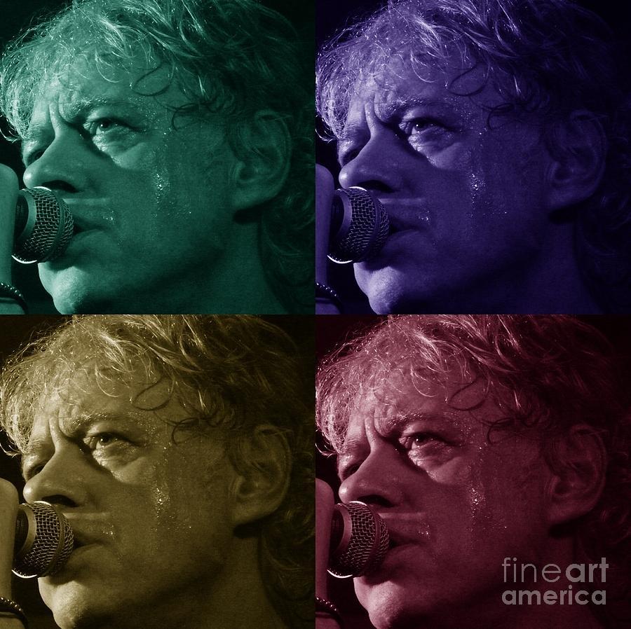 Bob Geldof Photograph - Pop Star Art by Julie Koretz