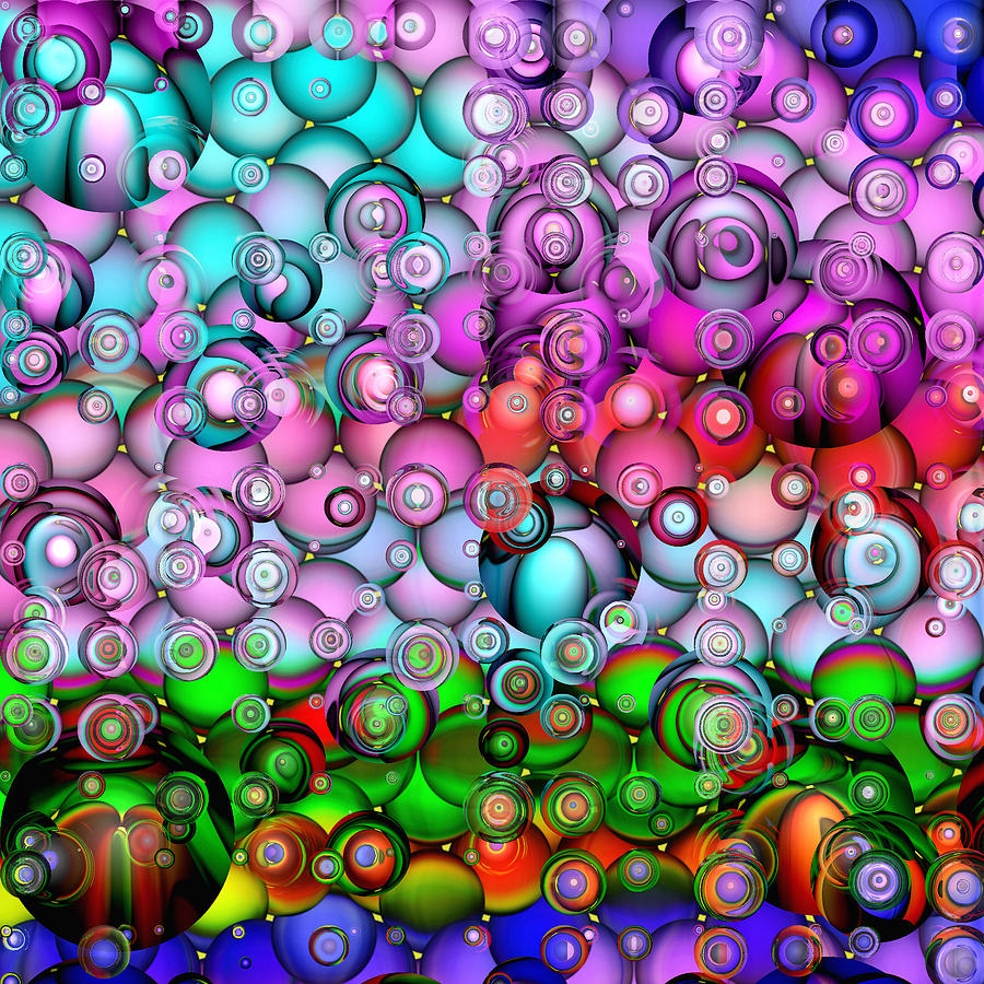 Abstract Digital Art - Pop by Wendy J St Christopher