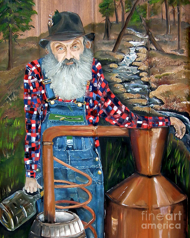 Popcorn Sutton - Bootlegger - Still by Jan Dappen