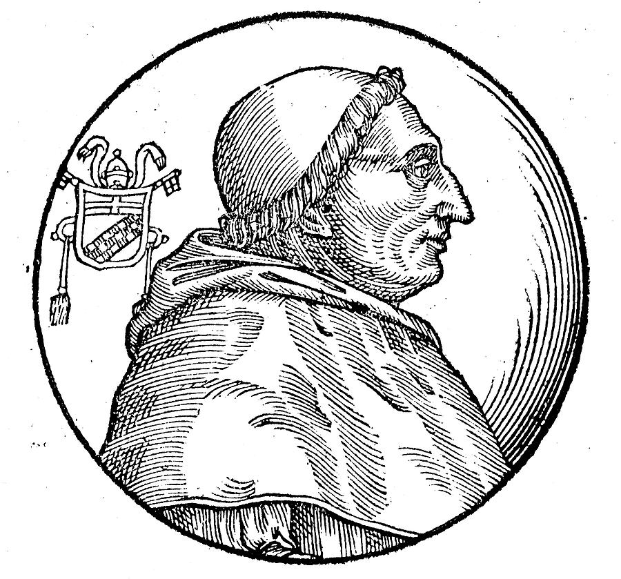 15th Century Painting - Pope Innocent Viii (1432-1492) by Granger