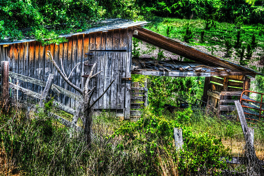 Barn Photograph - Farm - Barn - Pope - Water Valley Barn by Barry Jones