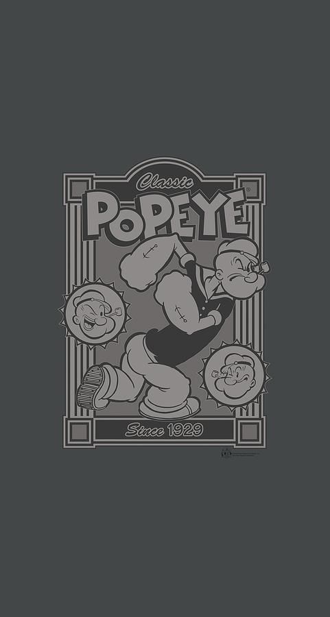 Popeye Digital Art - Popeye - Classic Popeye by Brand A