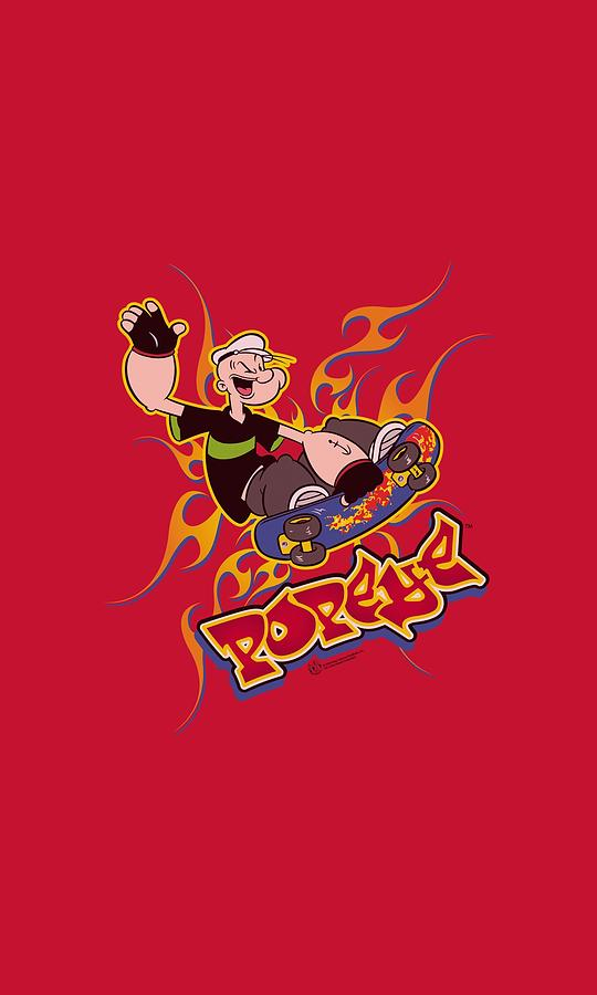 Popeye Digital Art - Popeye - Get Air by Brand A