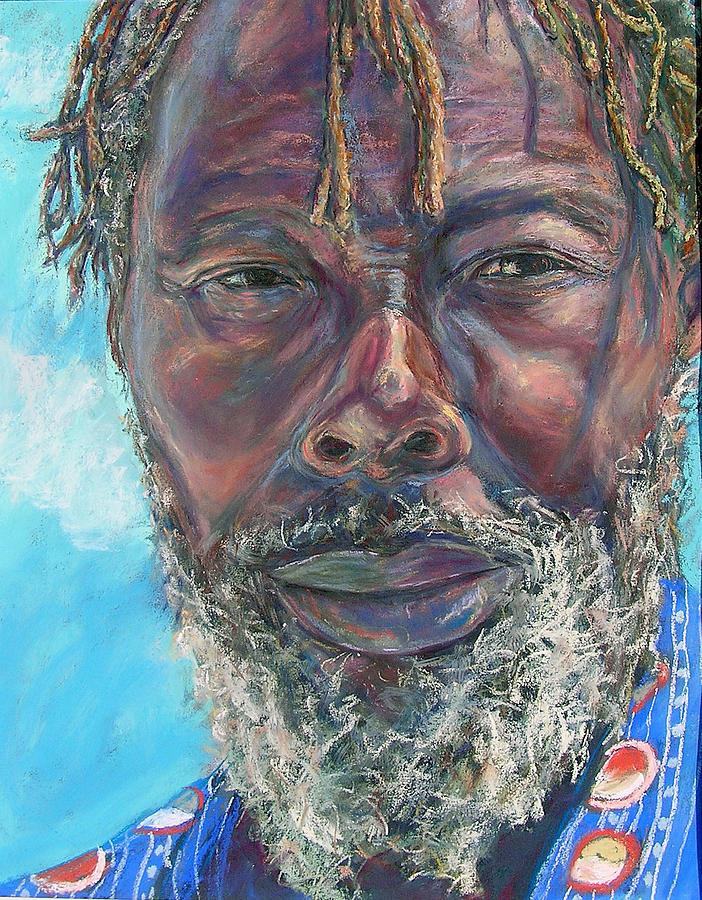 Man Painting - Poppi by Li Newton