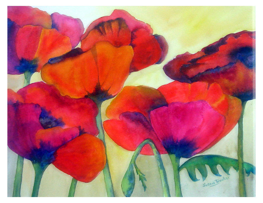 Poppies by Susan Duxter