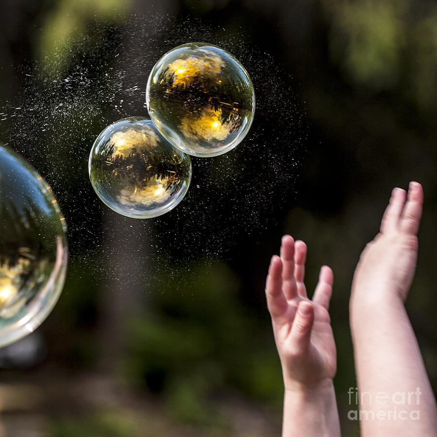 Air Photograph - Poppin Bubbles by Darcy Michaelchuk