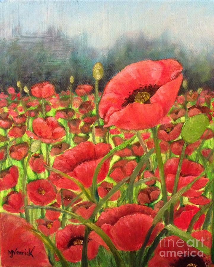 Poppy 2 by M J Venrick