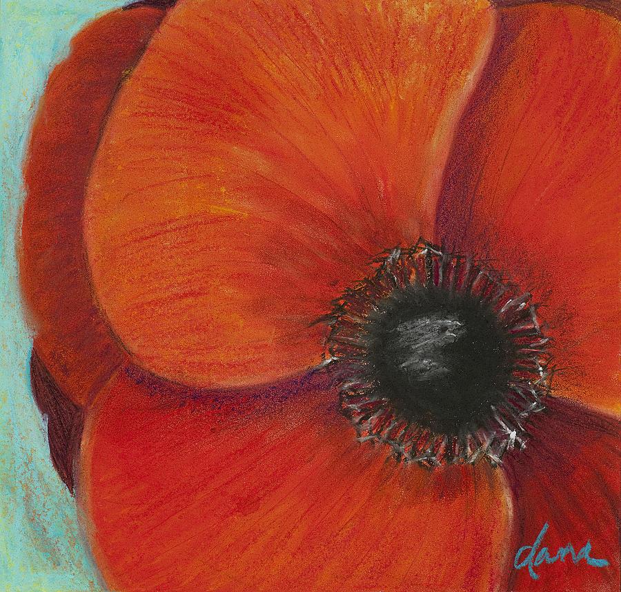 Poppy Painting - Poppy by Dana Strotheide