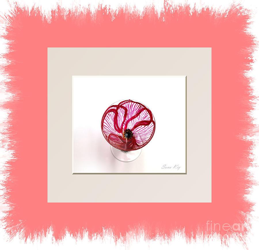 Poppy Glass Art - Poppy. Holiday Collection by Oksana Semenchenko
