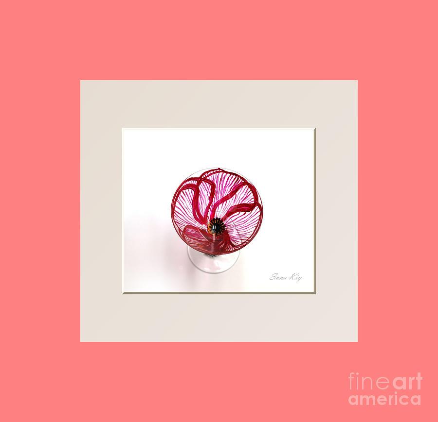 Poppy  Glass Art - Poppy. Soul Inspirations Collection by Oksana Semenchenko