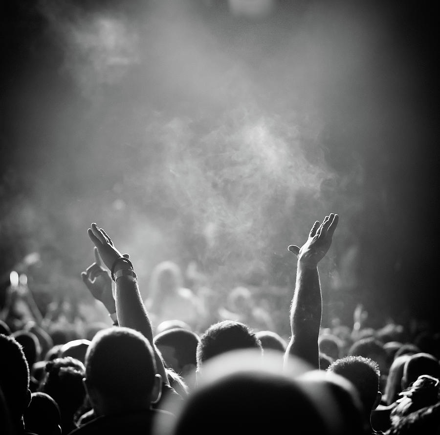 Popular Music Concert Photograph by Alenpopov