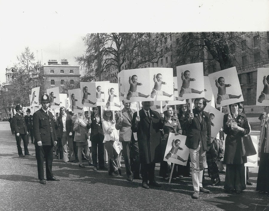 Retro Photograph - Population Day March by Retro Images Archive