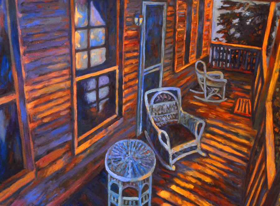 Architecture Painting - Porch  by Kendall Kessler