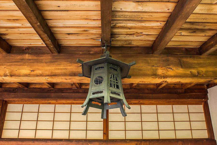 Porch Photograph - Porch Lantern by Calazones Flics