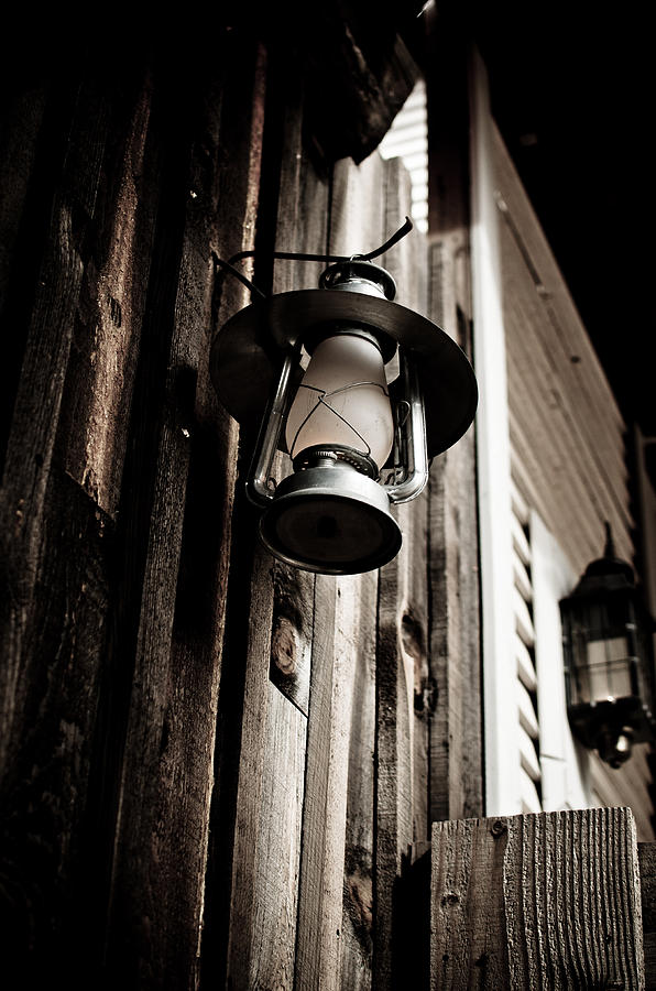 Pioneer Photograph - Porch Lantern by Swift Family