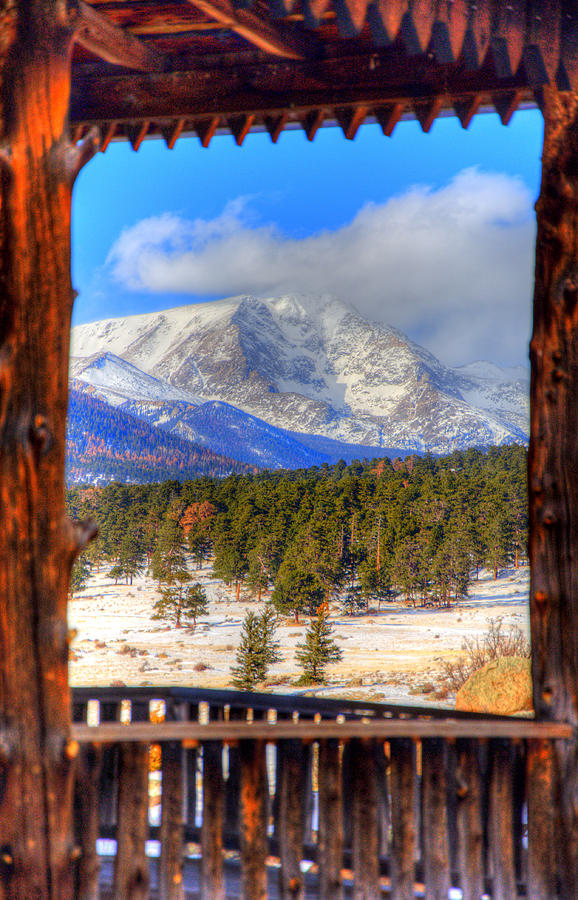 Porch View 4166 Photograph