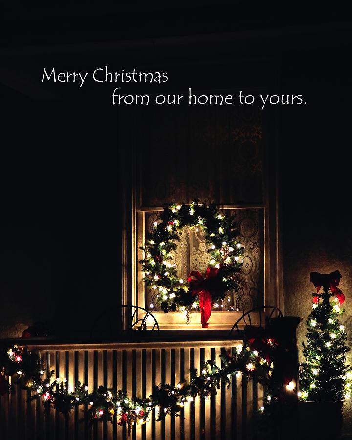 Porch Wreath 8942 Photograph