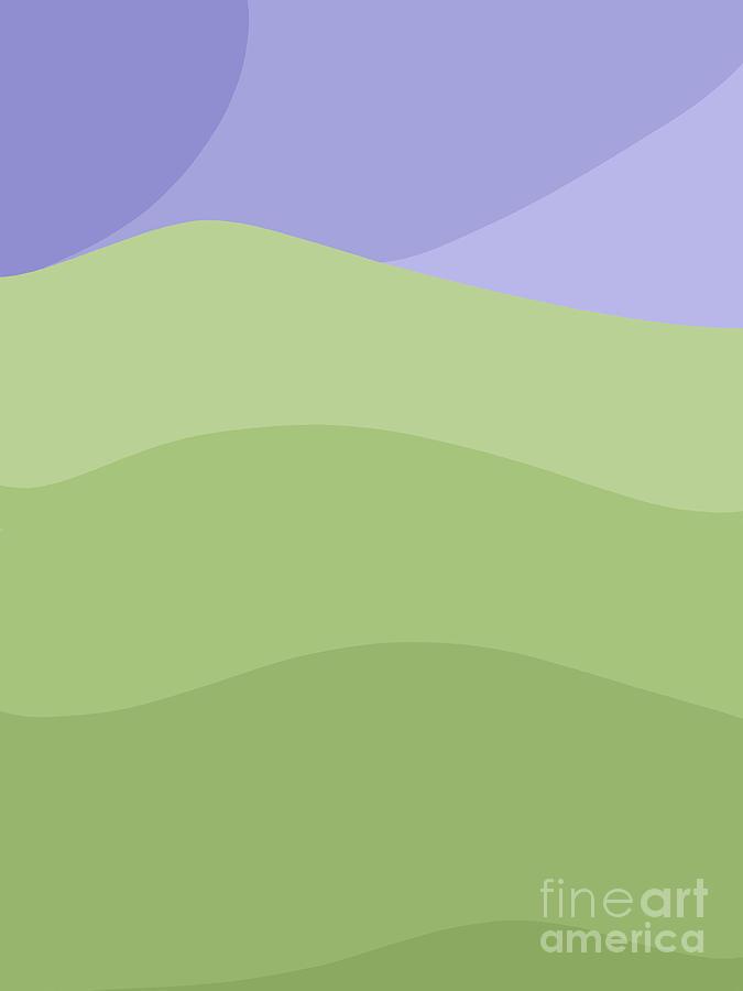 Porirua Hillside by Henry Manning
