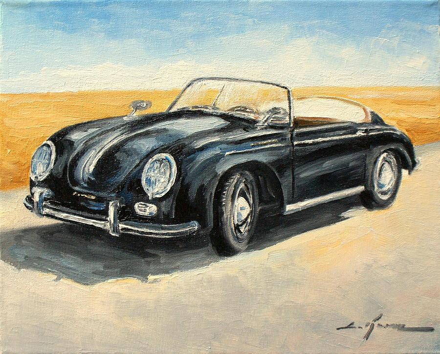 Porsche 356 Speedster Painting By Luke Karcz
