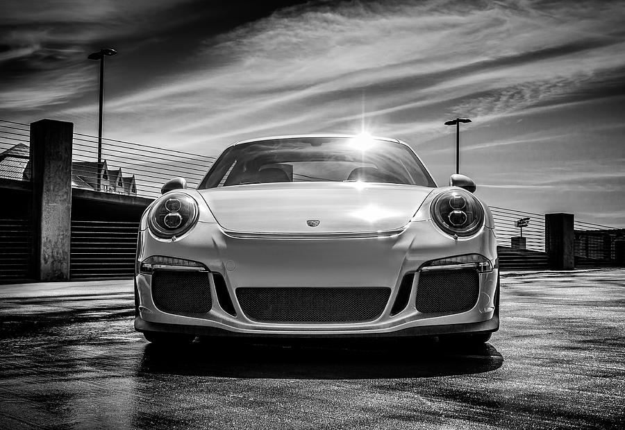 Porsche Digital Art - Porsche 911 GT3 by Douglas Pittman