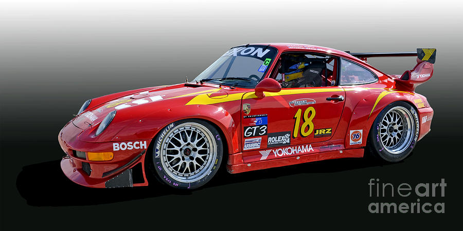 Porsche 993 Gt3 Rsr Race Car Photograph By Tad Gage
